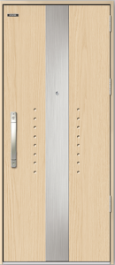 Cửa thép chống cháy phủ Laminate GLX-STEEL 908